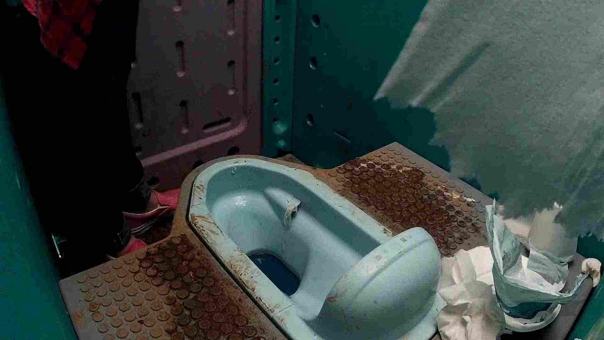 痴態洗面所 Vol.07 んーっ設置のむずかしさ、また「紙」様が・・・ 洗面所着替え | OL  86連発 85