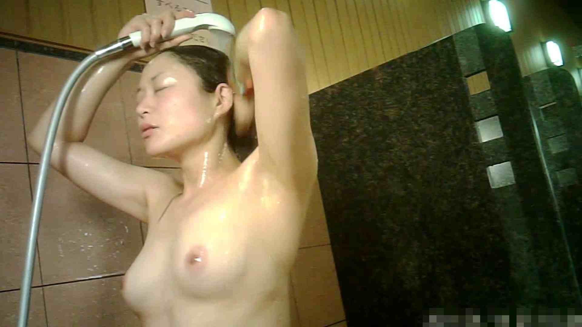 No.1 洗い場!!とっても綺麗な身体のお女市さん、乳首も綺麗です。 銭湯 | 潜入エロ調査  23連発 11