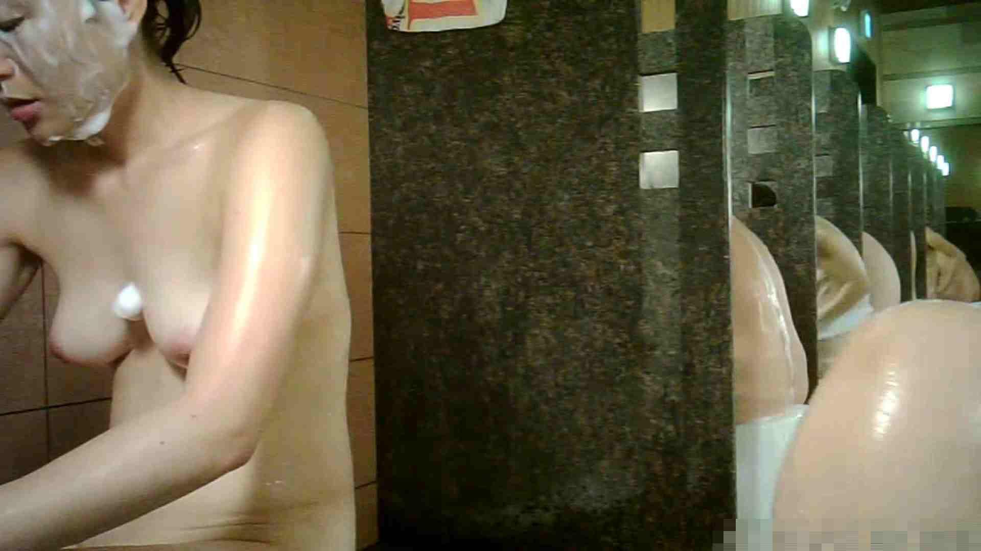 No.1 洗い場!!とっても綺麗な身体のお女市さん、乳首も綺麗です。 銭湯 | 潜入エロ調査  23連発 23