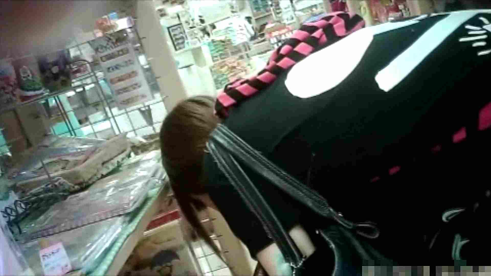 NO.6 雑貨屋で買い物中のガーリーな女の子 胸チラ   チラ  22連発 10