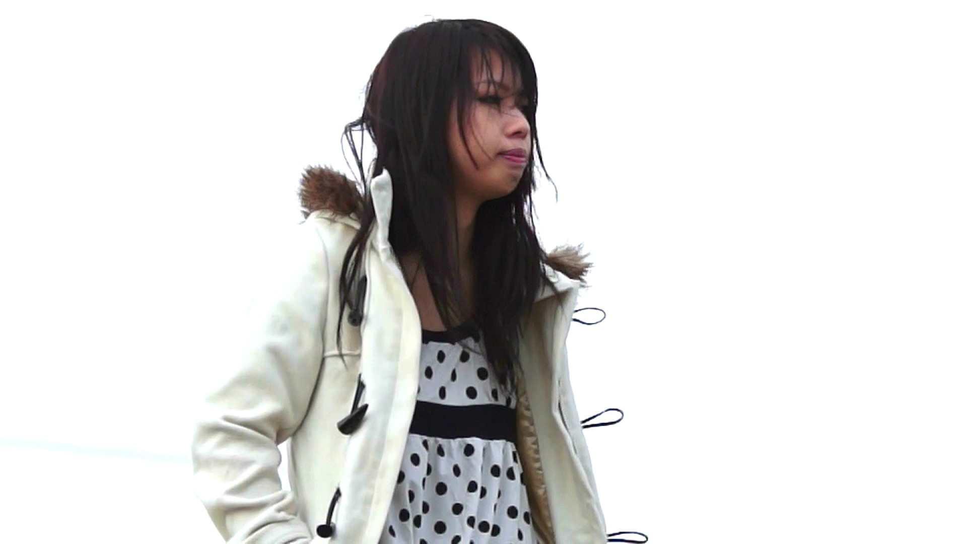vol.2 自宅近く思い出の地で黄昏る志穂さん OL | 0  74連発 8