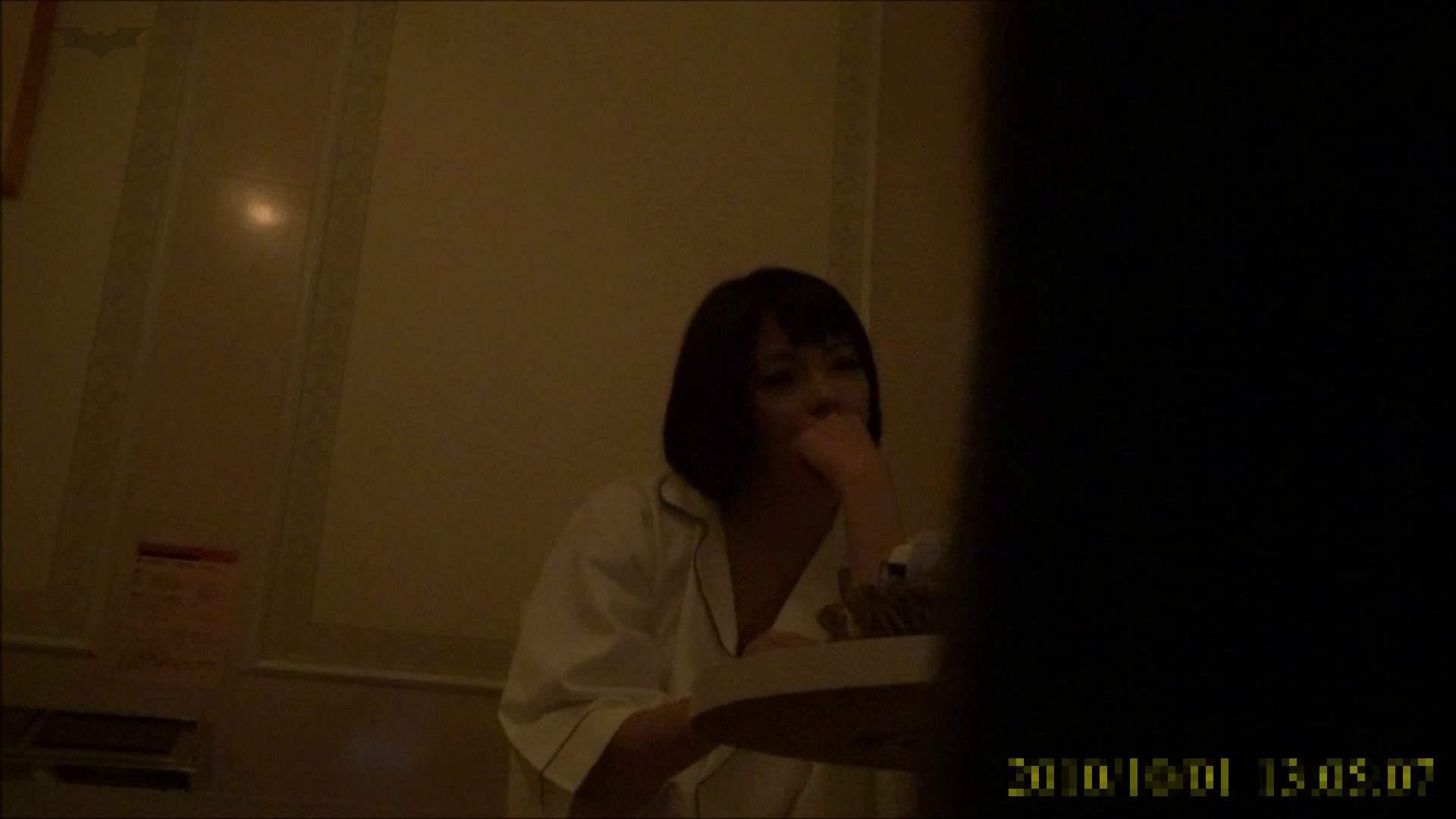 【未公開】vol.96 {茶髪→黒髪ギャル}美巨乳アミちゃん③【前編】 トイレ中   ホテル  96連発 22