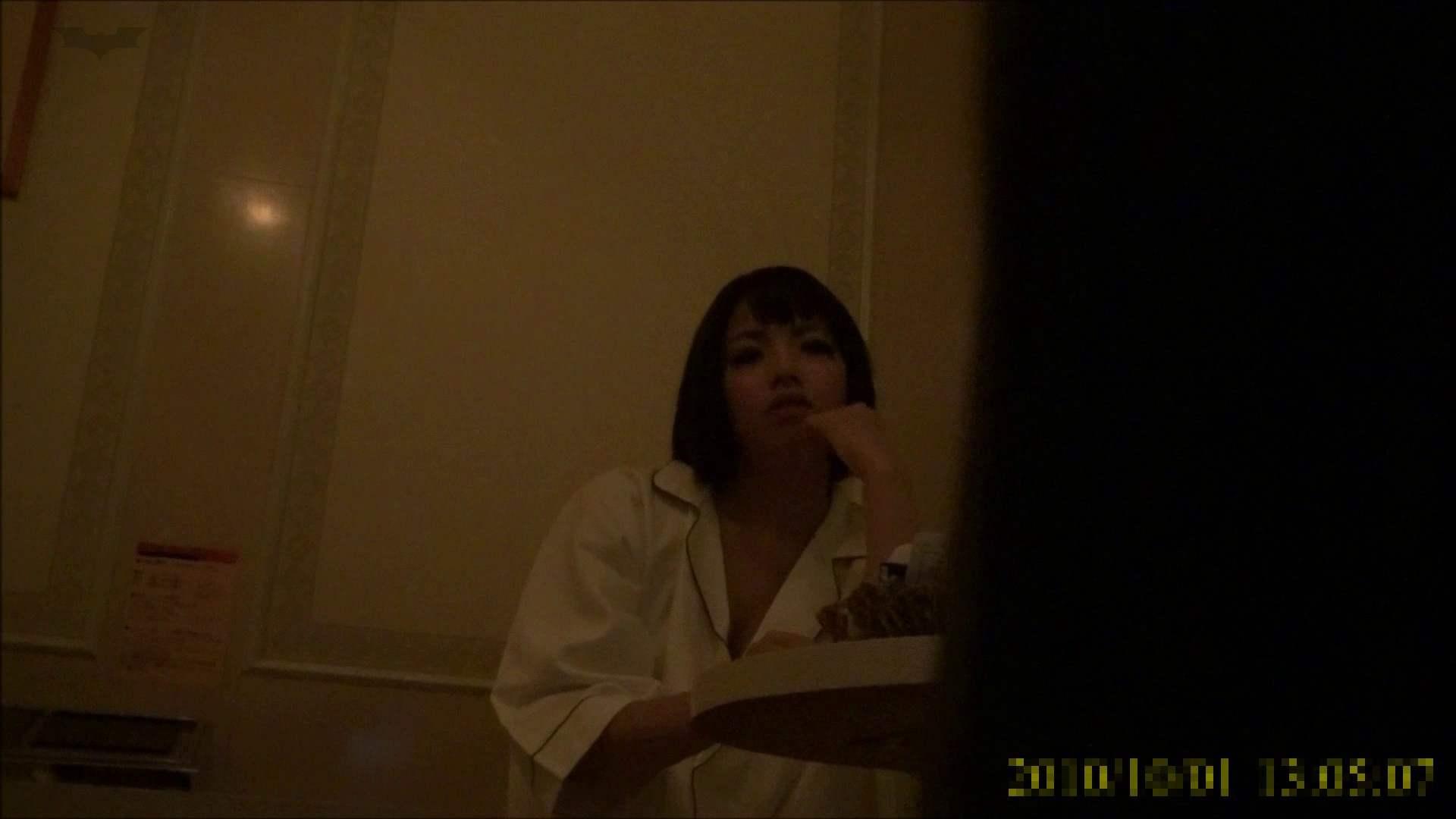 【未公開】vol.96 {茶髪→黒髪ギャル}美巨乳アミちゃん③【前編】 トイレ中   ホテル  96連発 24