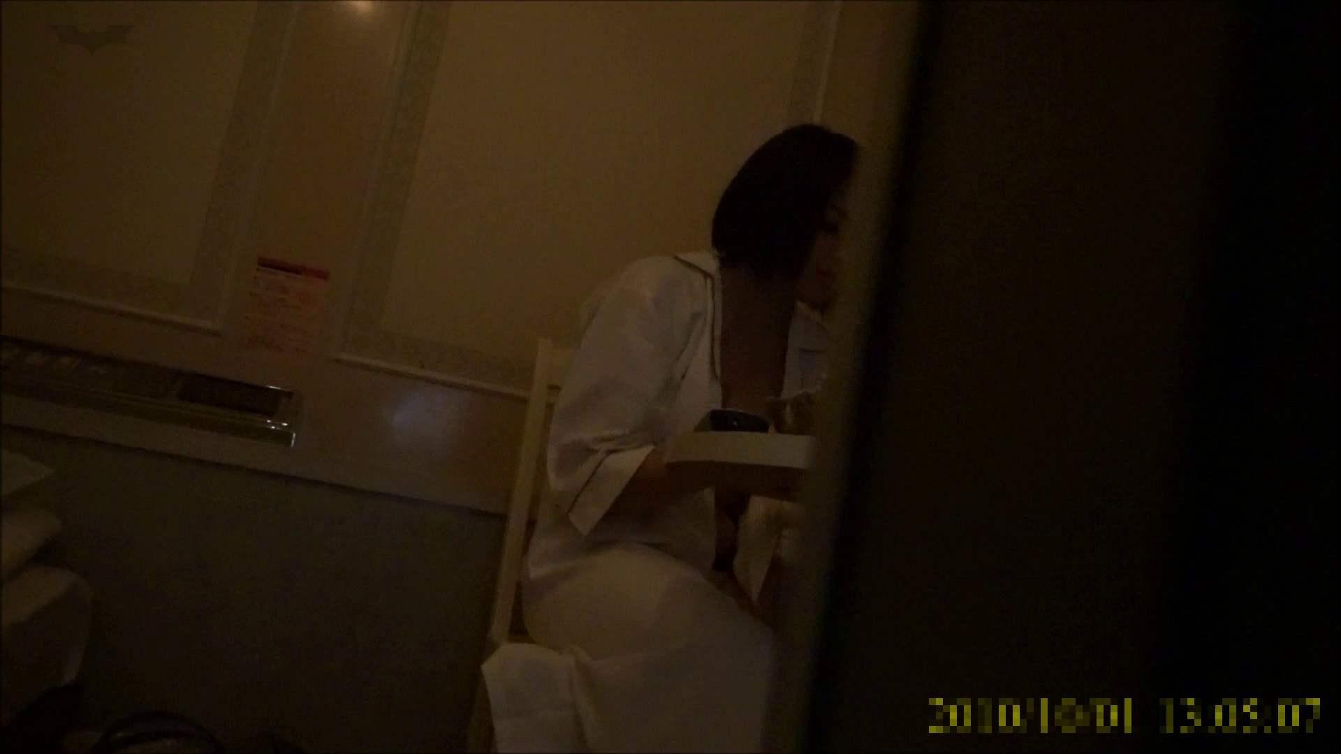 【未公開】vol.96 {茶髪→黒髪ギャル}美巨乳アミちゃん③【前編】 トイレ中   ホテル  96連発 90