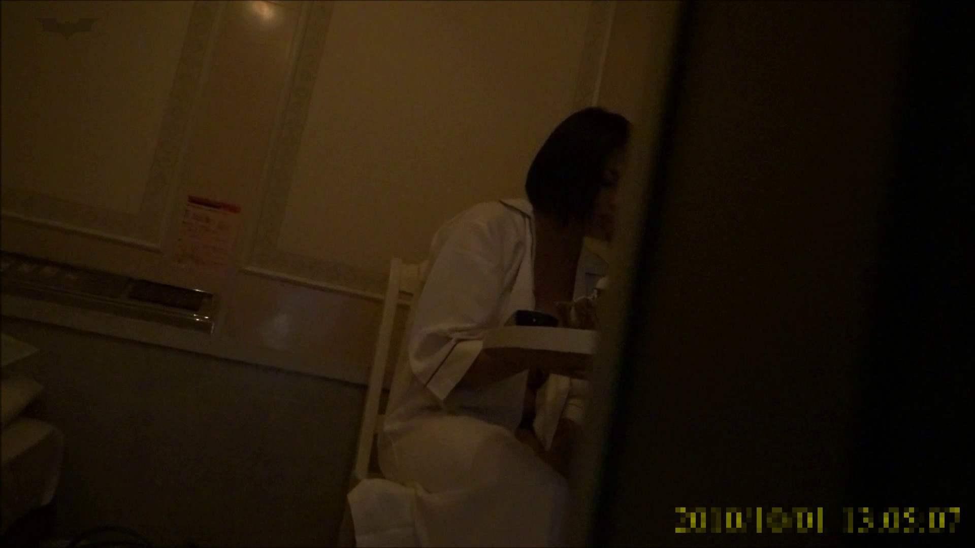【未公開】vol.96 {茶髪→黒髪ギャル}美巨乳アミちゃん③【前編】 トイレ中   ホテル  96連発 94