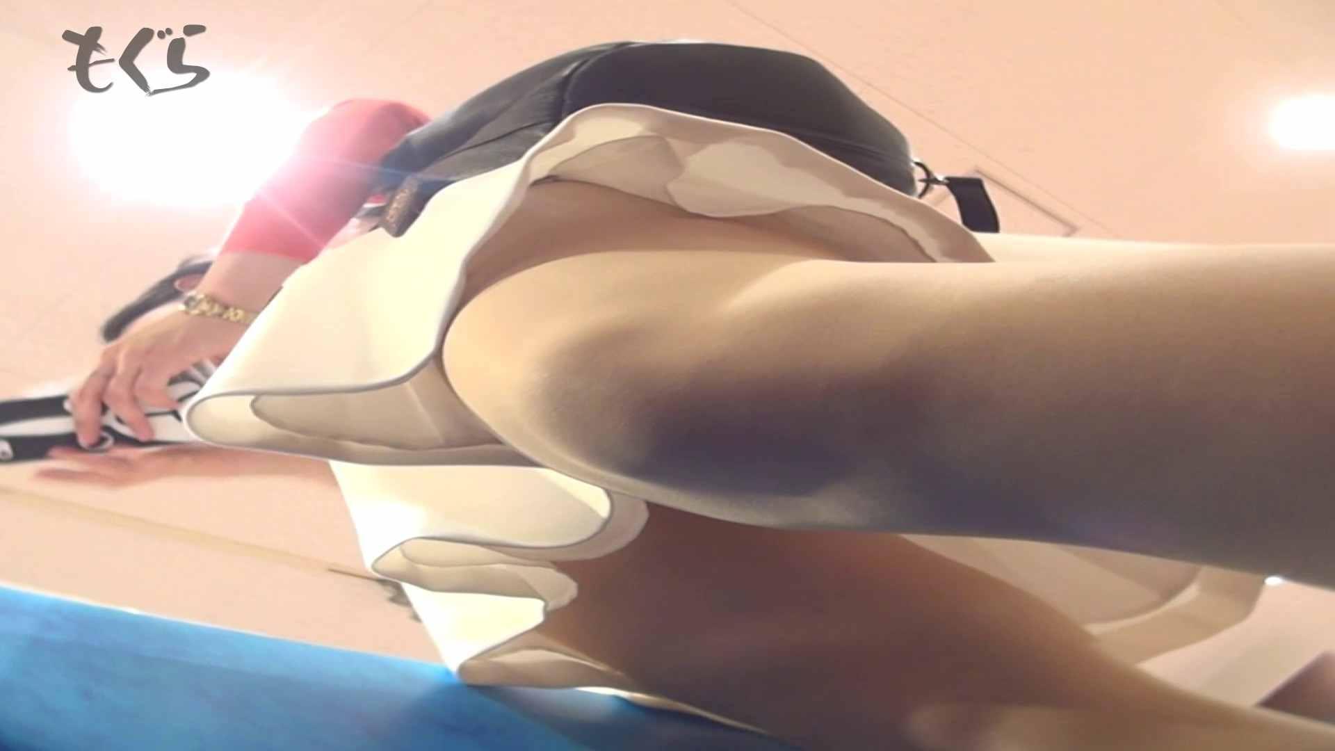 隣からNo24 正統派清楚系白スカート!! ギャル・コレクション | 盗撮エロすぎ  63連発 34