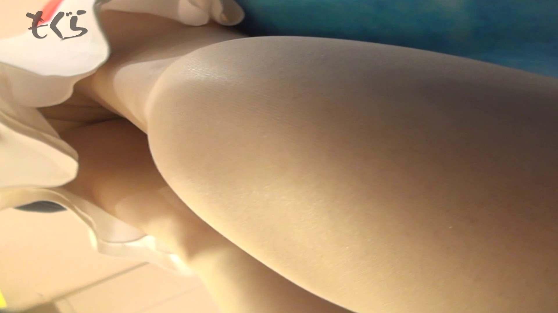 隣からNo24 正統派清楚系白スカート!! ギャル・コレクション | 盗撮エロすぎ  63連発 60