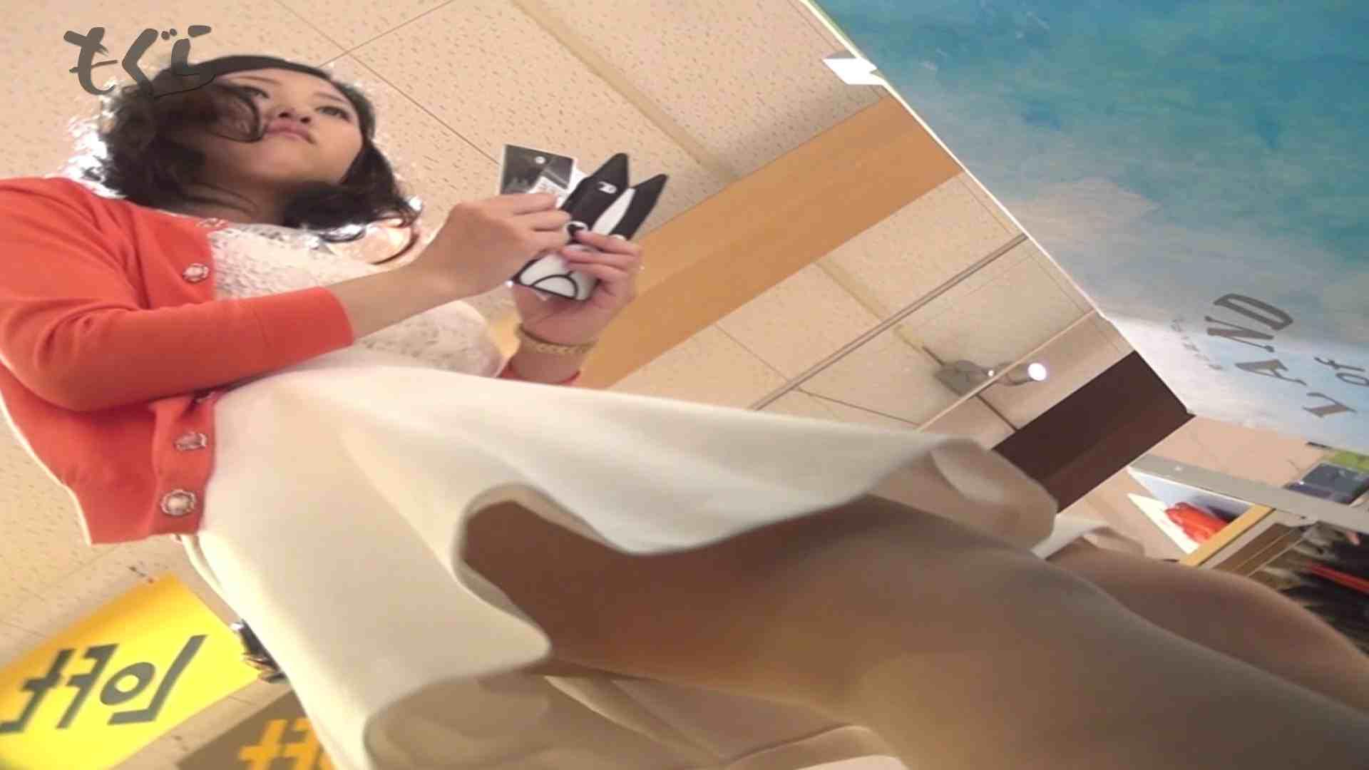 隣からNo24 正統派清楚系白スカート!! ギャル・コレクション | 盗撮エロすぎ  63連発 63