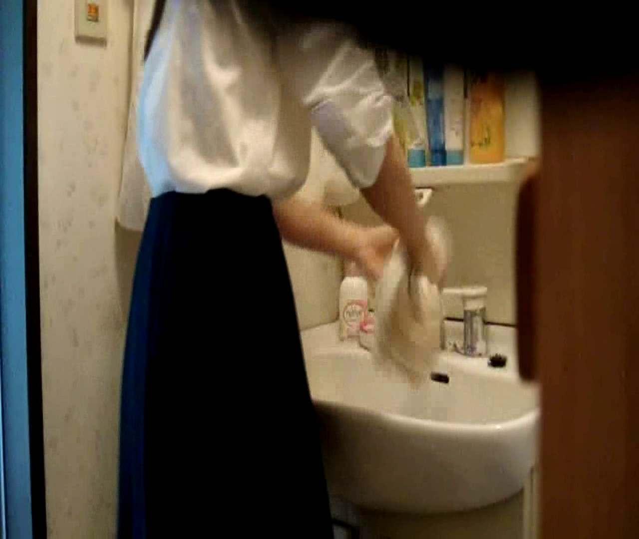 vol.5 まどかが帰宅後の洗顔後にブラを洗ってます。 OL | 0  47連発 39