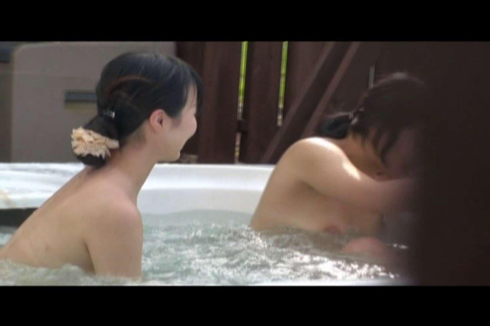 貸切露天 発情カップル! vol.07 露天風呂の女達   カップルのセックス  100連発 6
