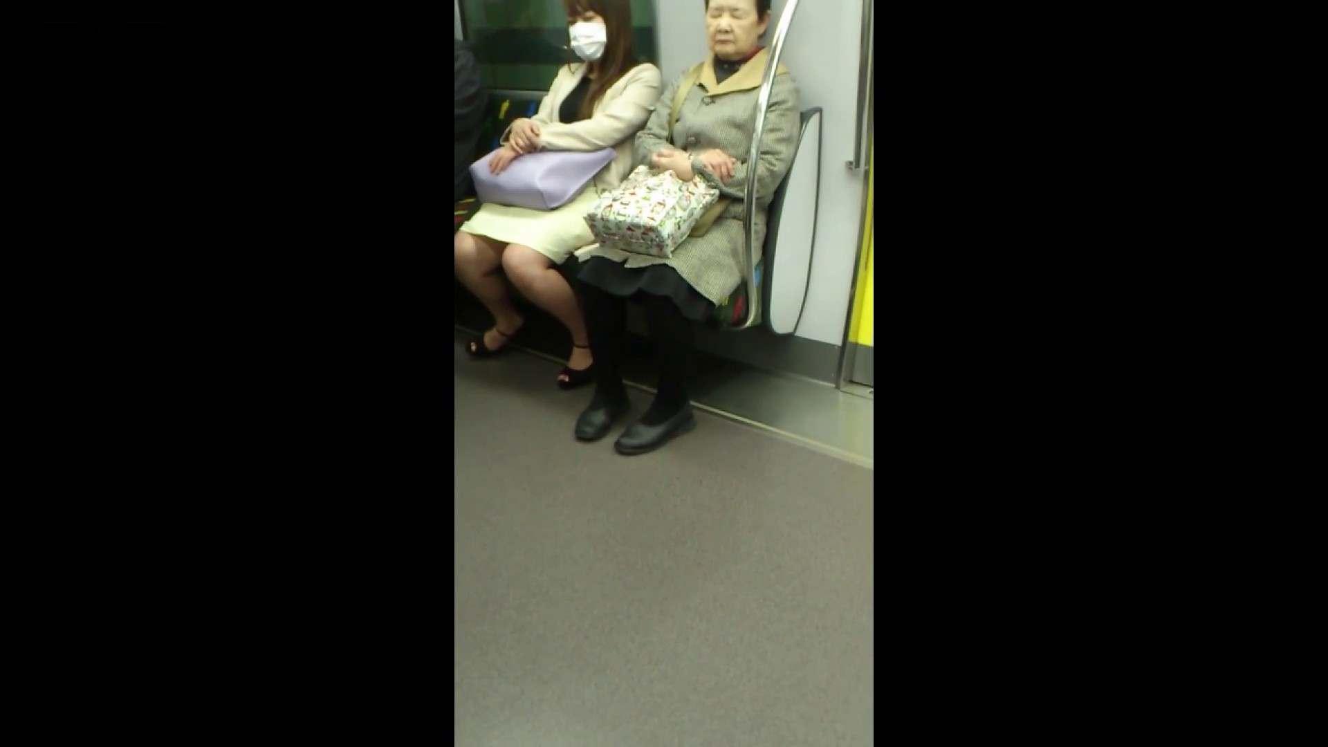 盗撮列車 Vol.55 黄色の爽やかなスカートが大好きです。 盗撮エロすぎ | OL  38連発 5