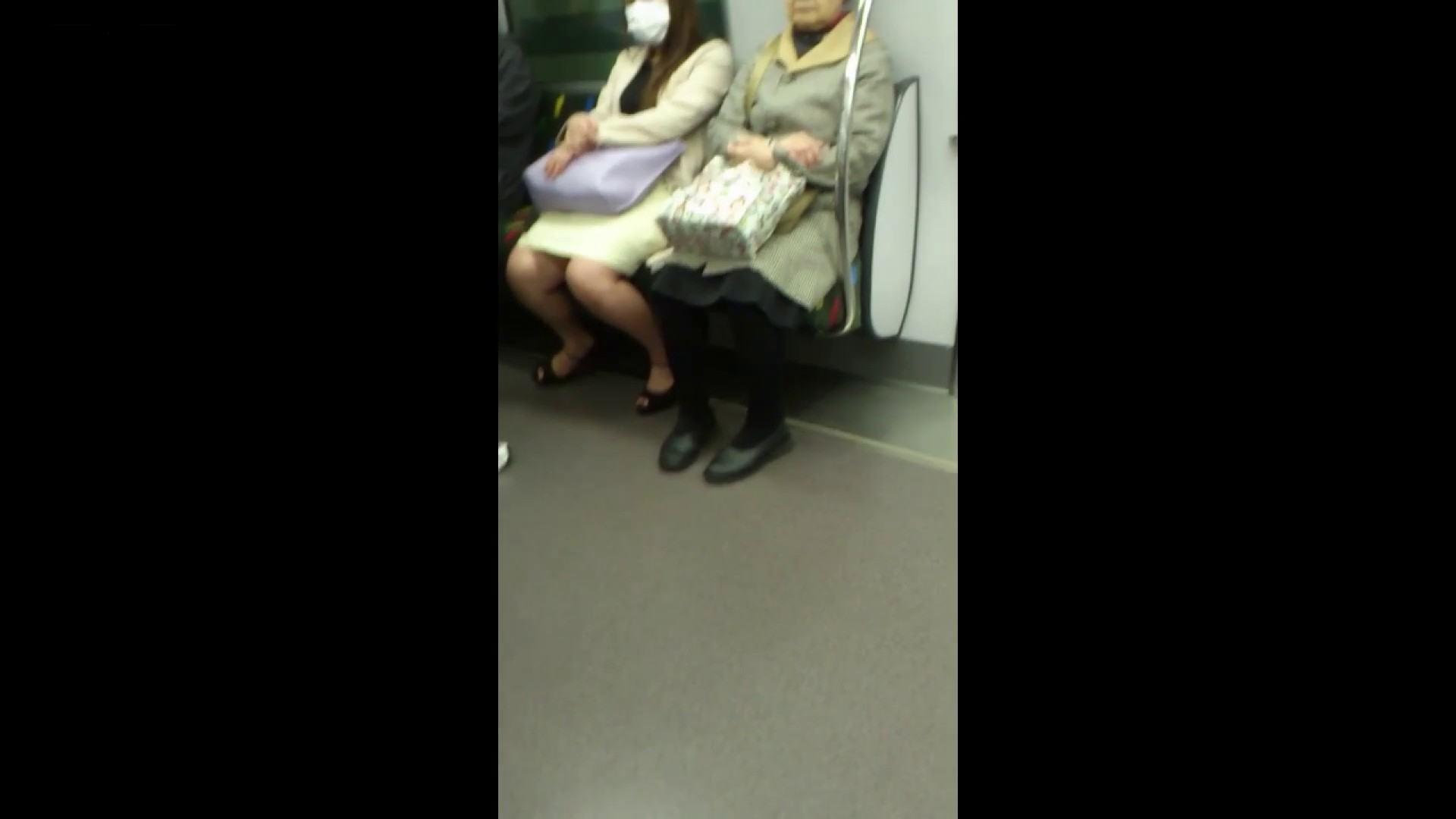 盗撮列車 Vol.55 黄色の爽やかなスカートが大好きです。 盗撮エロすぎ | OL  38連発 6