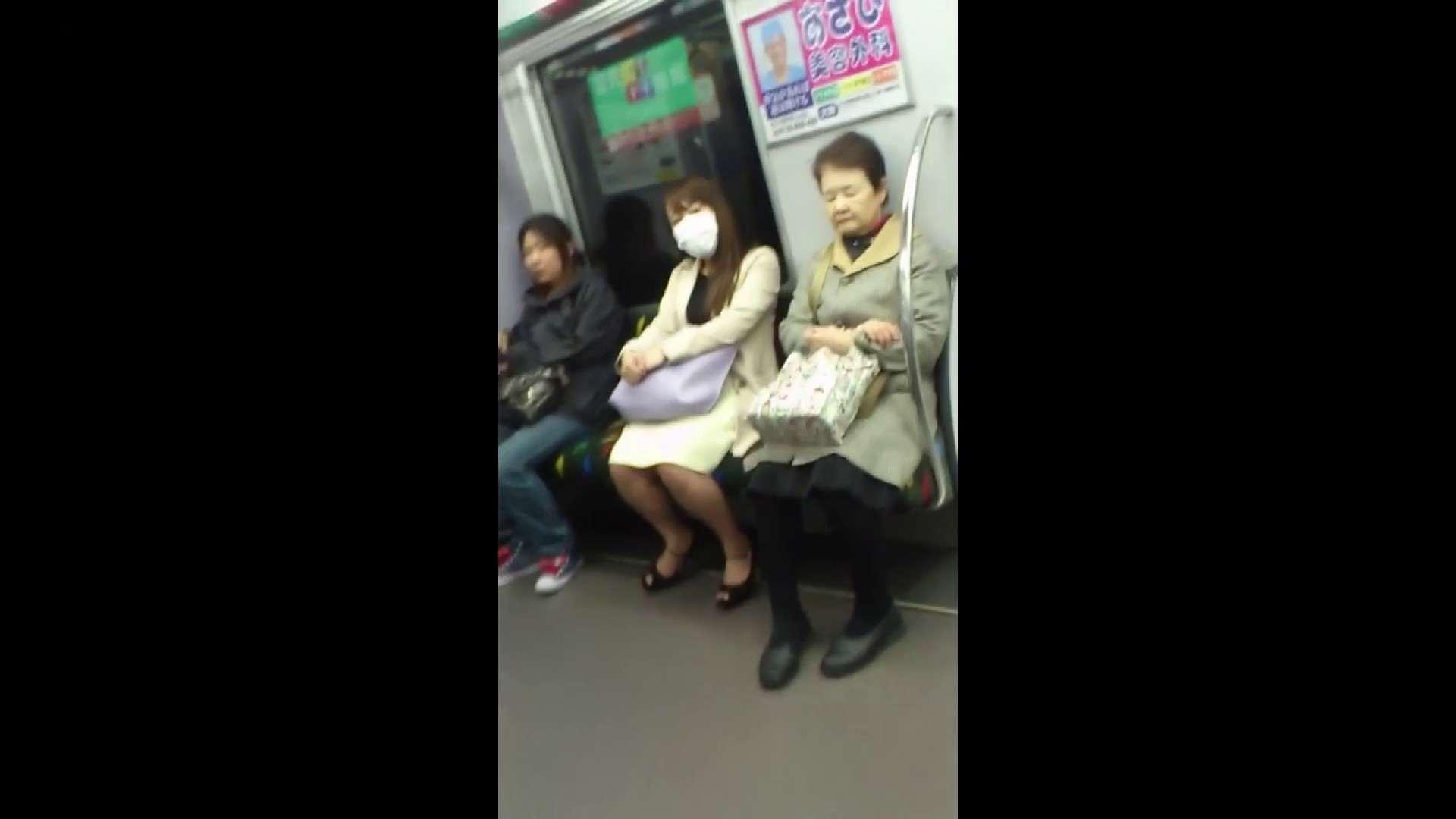 盗撮列車 Vol.55 黄色の爽やかなスカートが大好きです。 盗撮エロすぎ | OL  38連発 22