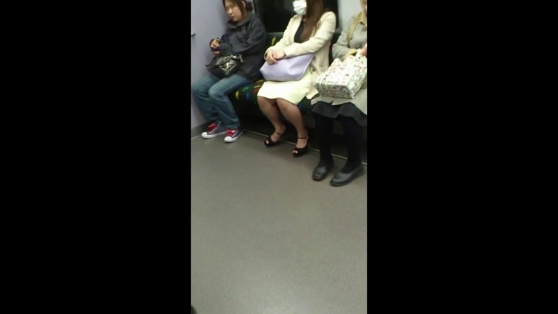 盗撮列車 Vol.55 黄色の爽やかなスカートが大好きです。 盗撮エロすぎ | OL  38連発 23