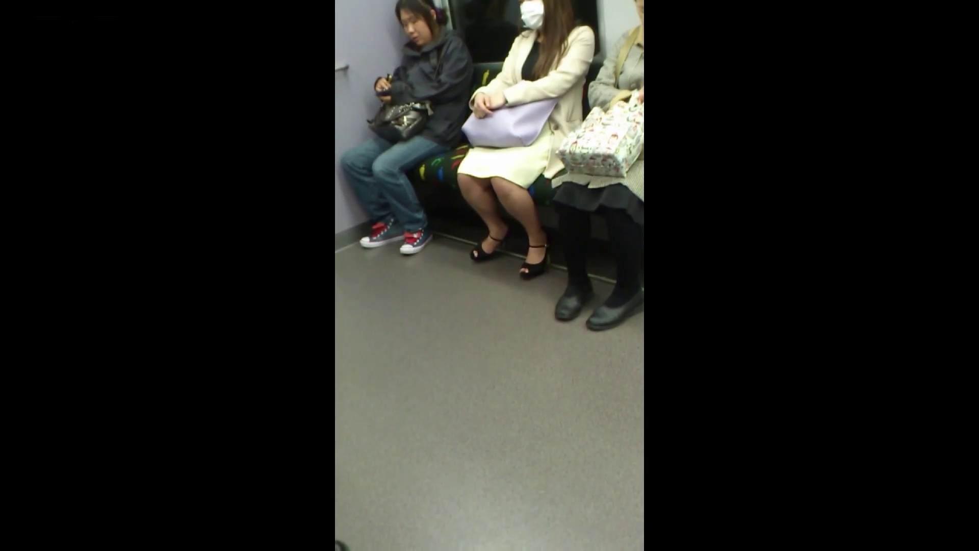 盗撮列車 Vol.55 黄色の爽やかなスカートが大好きです。 盗撮エロすぎ | OL  38連発 24