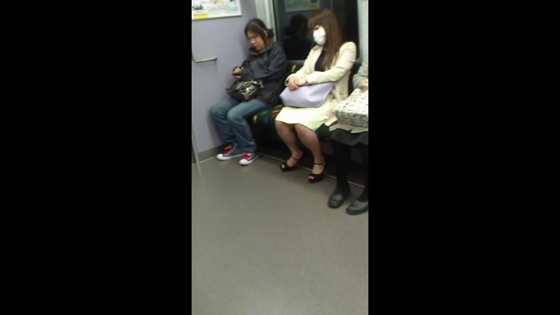 盗撮列車 Vol.55 黄色の爽やかなスカートが大好きです。 盗撮エロすぎ | OL  38連発 27