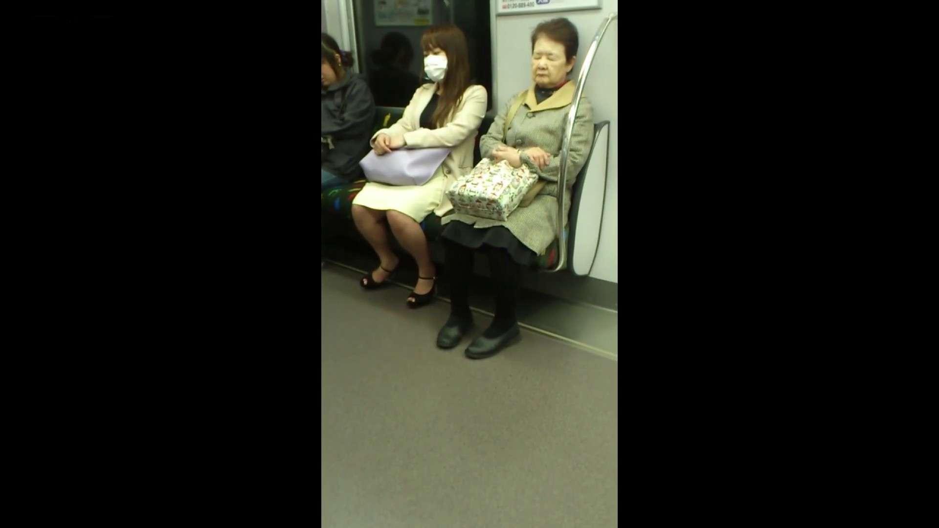 盗撮列車 Vol.55 黄色の爽やかなスカートが大好きです。 盗撮エロすぎ | OL  38連発 31