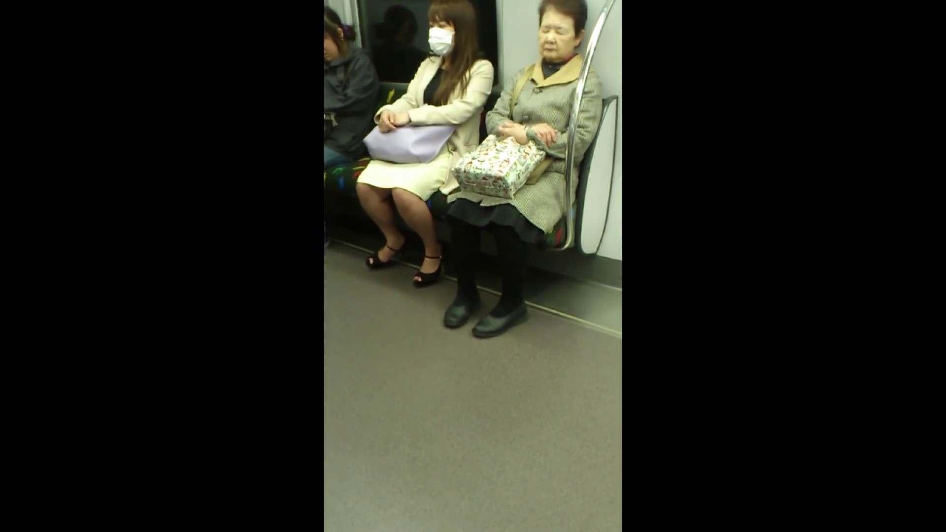 盗撮列車 Vol.55 黄色の爽やかなスカートが大好きです。 盗撮エロすぎ | OL  38連発 35