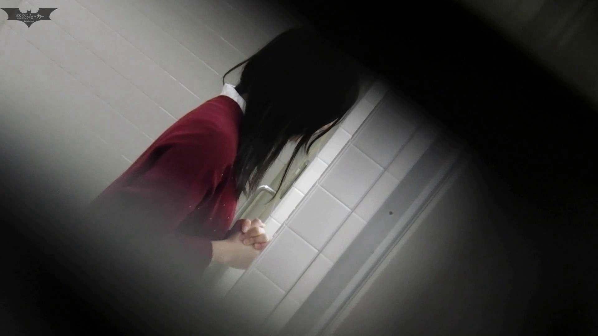 お銀さん vol.59 ピンチ!!「鏡の前で祈る女性」にばれる危機 洗面所着替え | OL  48連発 5