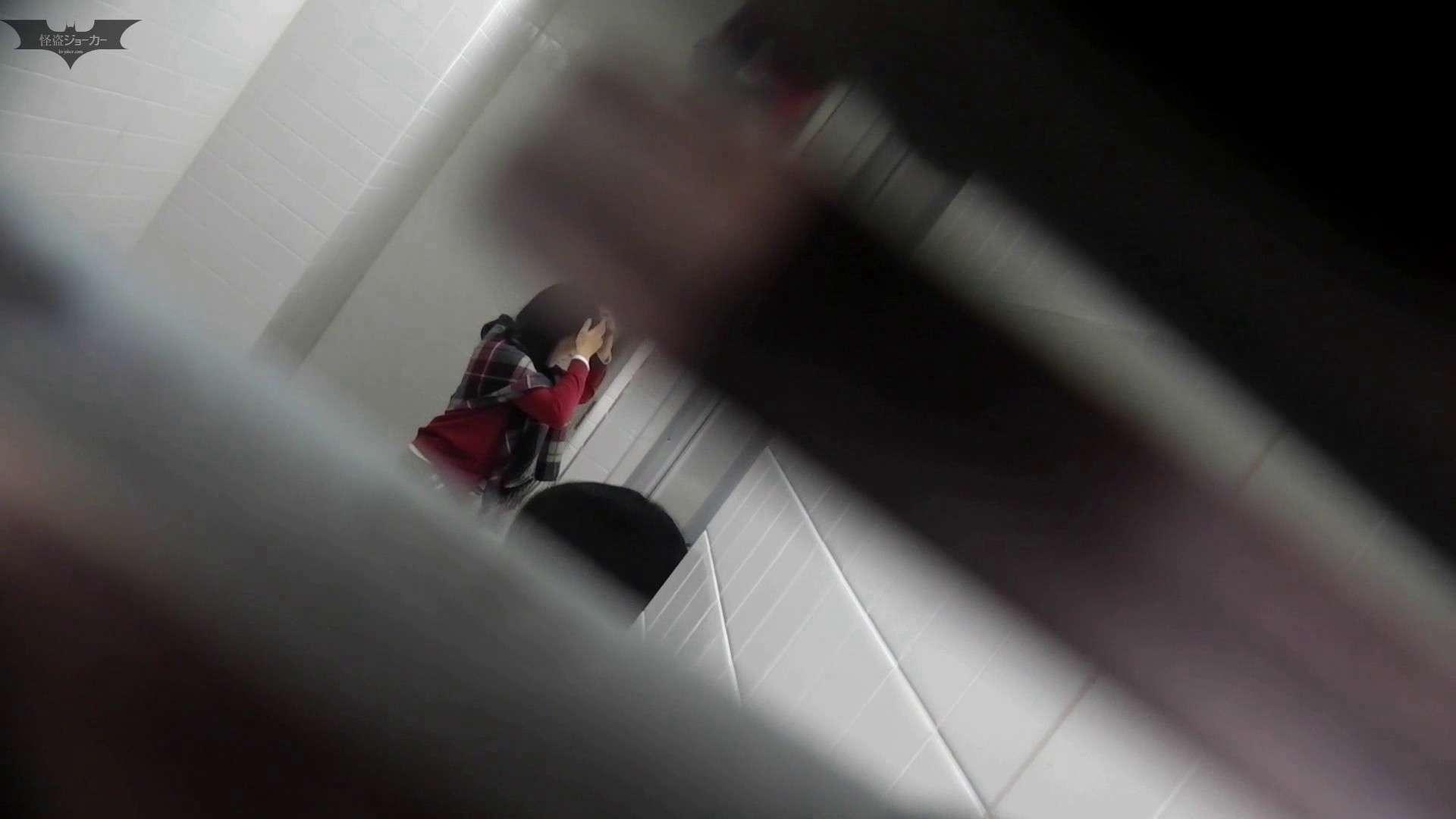 お銀さん vol.59 ピンチ!!「鏡の前で祈る女性」にばれる危機 洗面所着替え | OL  48連発 33