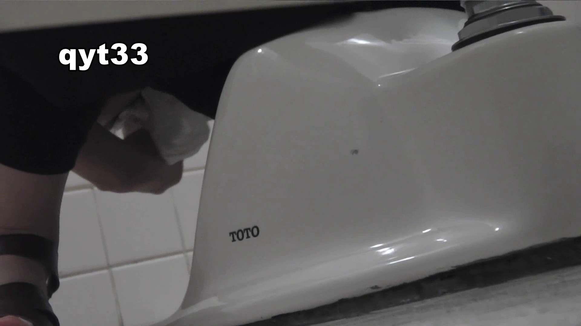 お銀さんの「洗面所突入レポート!!」 vol.33 獲物は逃しません 美人コレクション | 洗面所着替え  38連発 14
