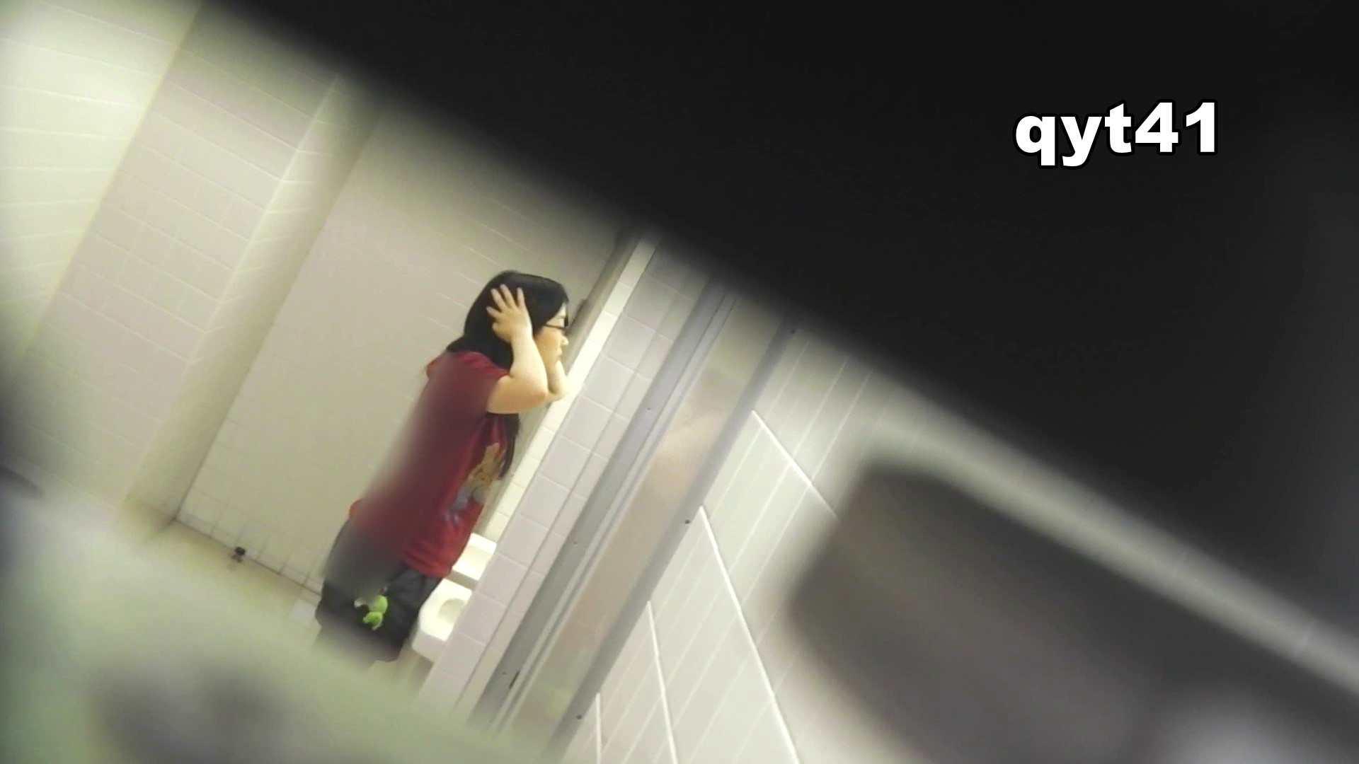 お銀さんの「洗面所突入レポート!!」 vol.41 ジャジャ漏れ 洗面所着替え   OL  43連発 34