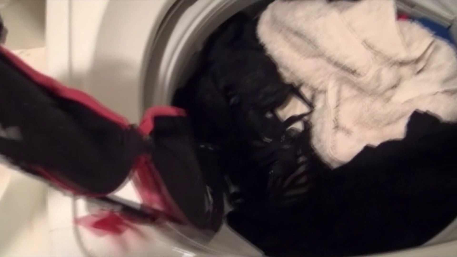 【01】ベランダへ侵入し、真っ先に洗濯機へ直行しました。 お姉さん達のヌード | 0  97連発 49