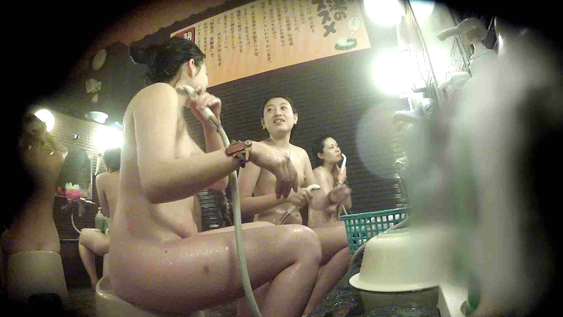 洗い場!お二人とも清楚でお美しいでございます。 銭湯   潜入エロ調査  76連発 14