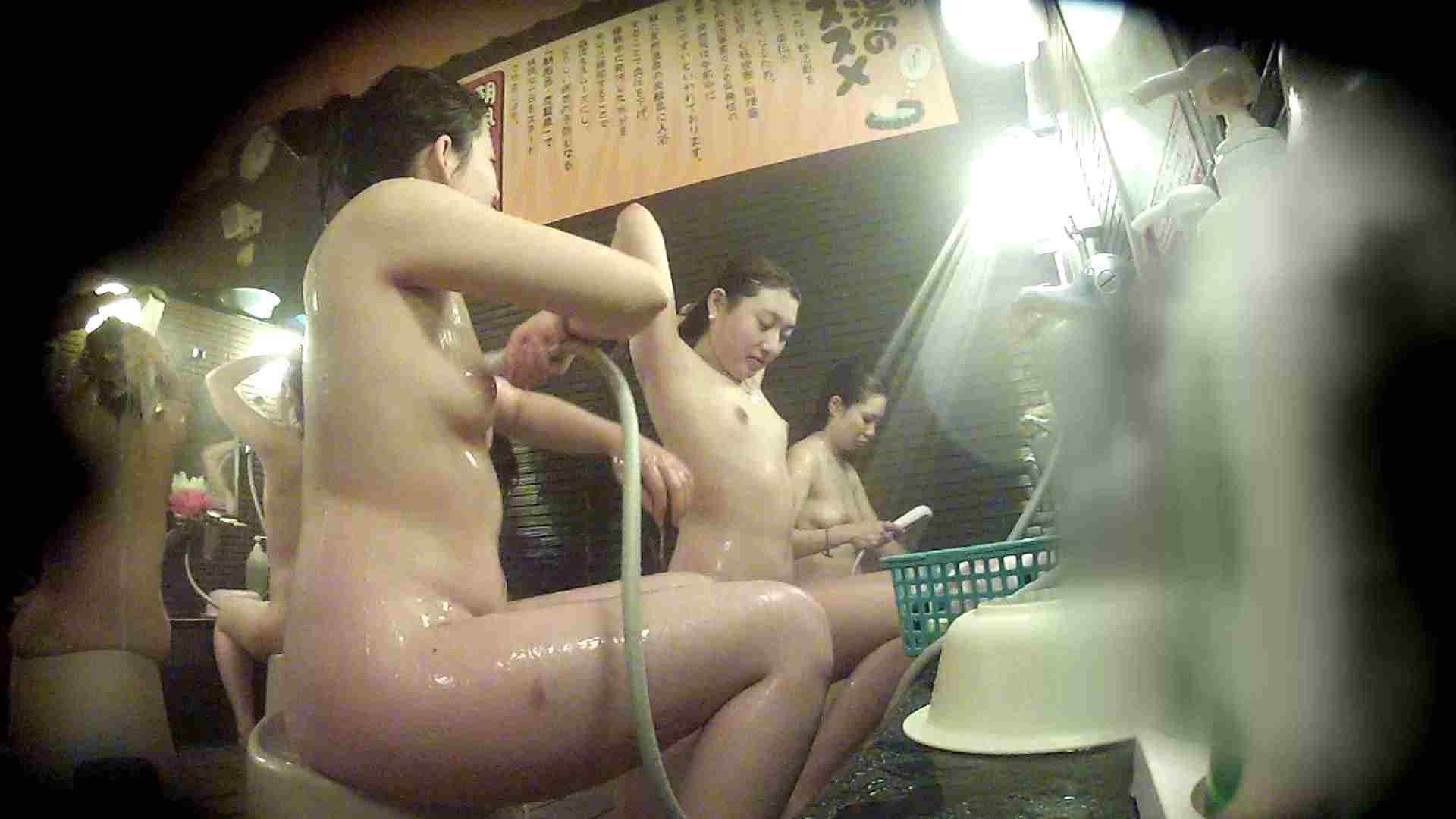 洗い場!お二人とも清楚でお美しいでございます。 銭湯   潜入エロ調査  76連発 15