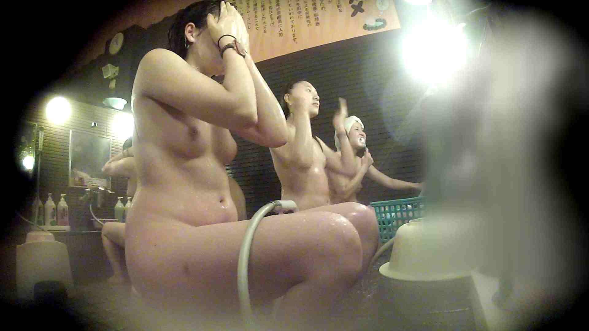 洗い場!お二人とも清楚でお美しいでございます。 銭湯   潜入エロ調査  76連発 16