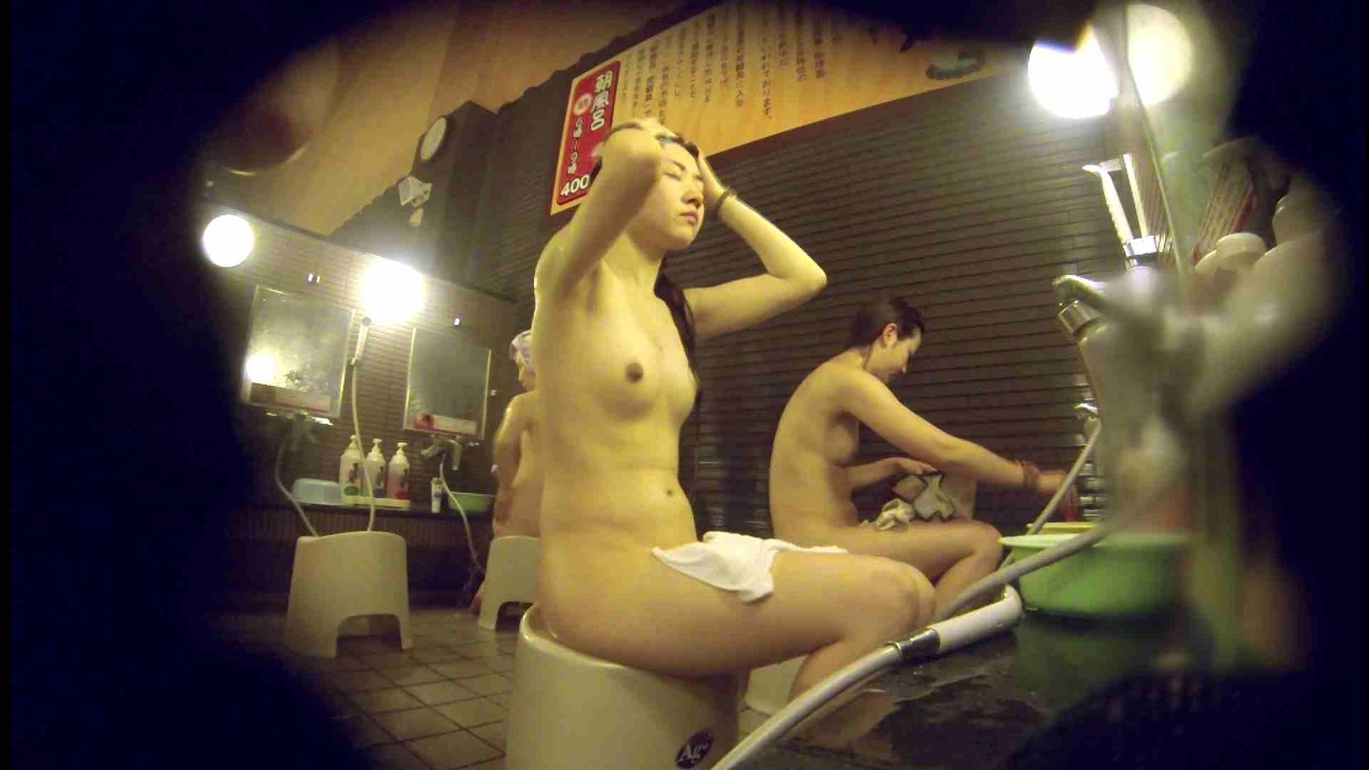 洗い場!しかし・・・綺麗な顔をしてますね。結婚したいな。 潜入エロ調査 | 銭湯  72連発 23