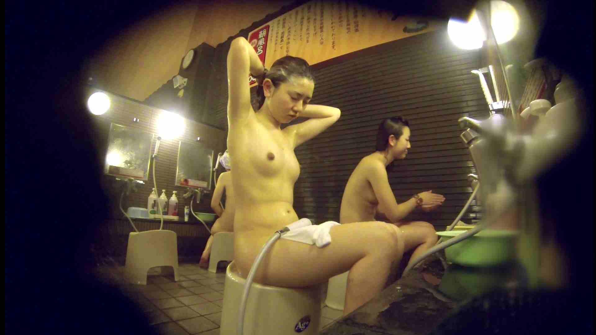 洗い場!しかし・・・綺麗な顔をしてますね。結婚したいな。 潜入エロ調査 | 銭湯  72連発 39