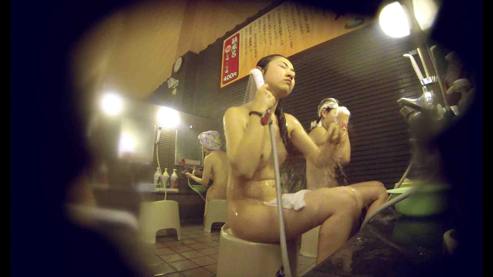 洗い場!しかし・・・綺麗な顔をしてますね。結婚したいな。 潜入エロ調査 | 銭湯  72連発 52