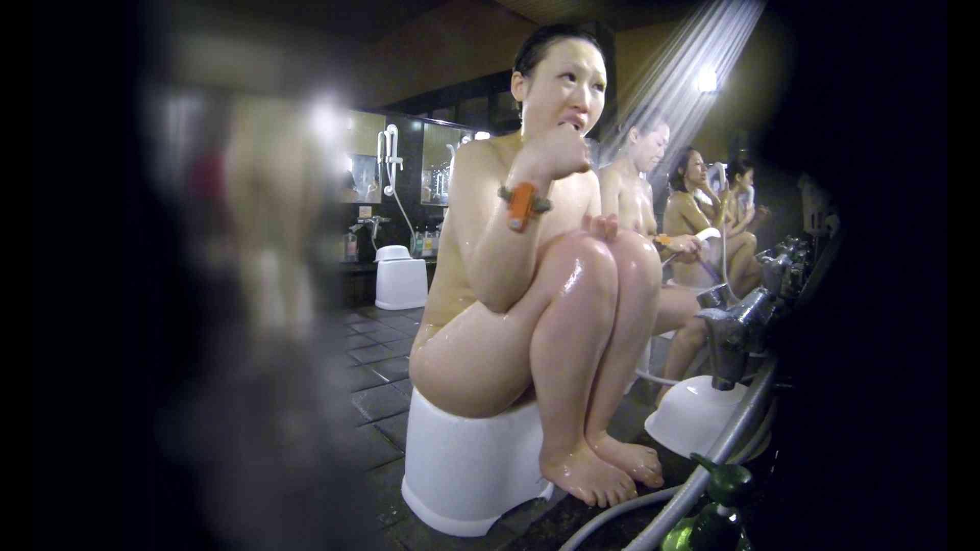 洗い場!米粉パンかのようなもっちり感。あっ!具が! 銭湯   潜入エロ調査  99連発 8