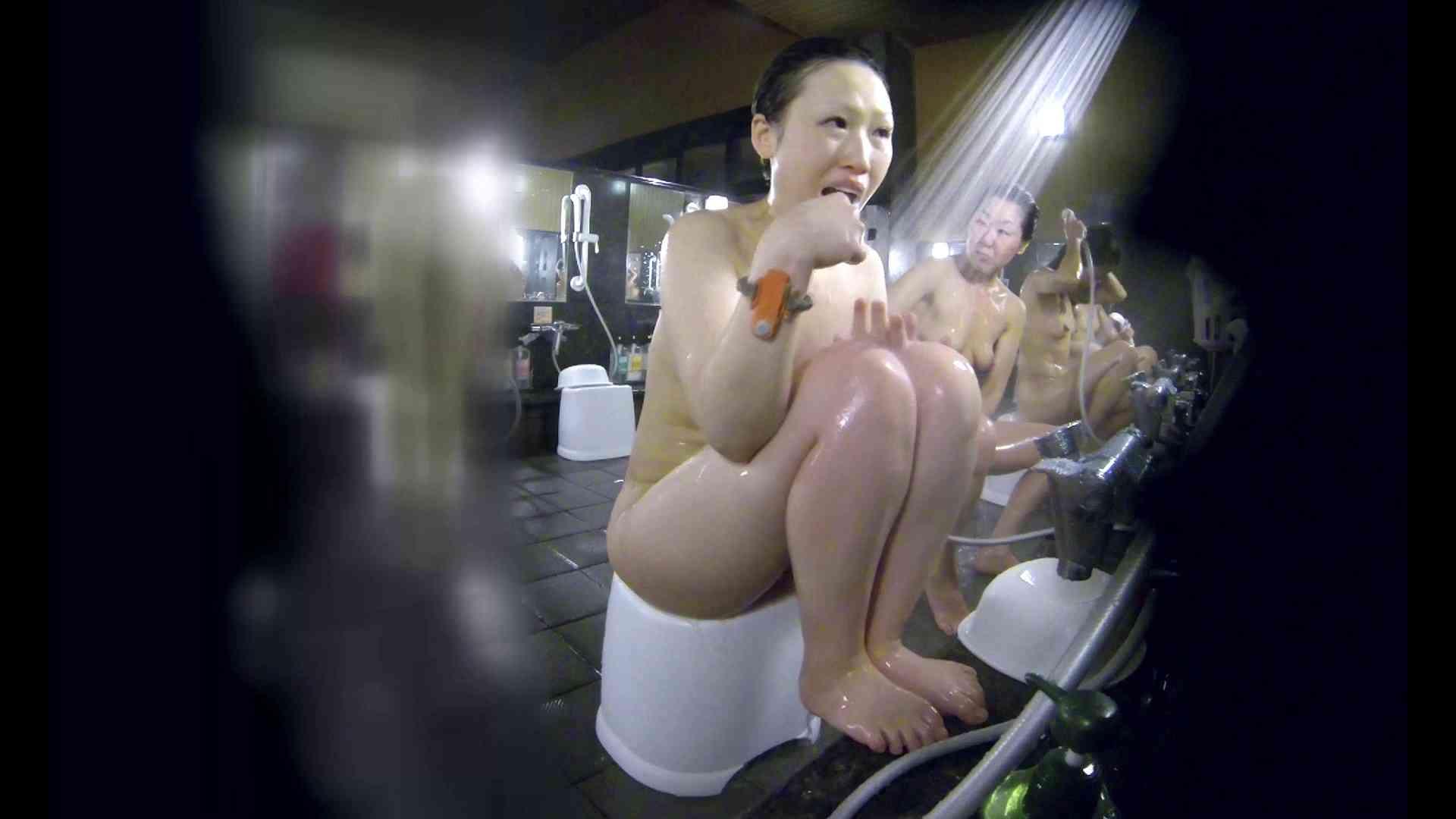 洗い場!米粉パンかのようなもっちり感。あっ!具が! 銭湯   潜入エロ調査  99連発 12