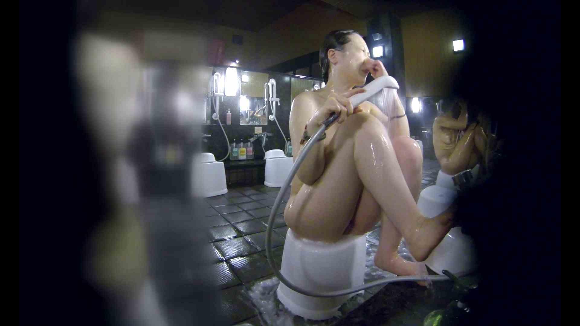 洗い場!米粉パンかのようなもっちり感。あっ!具が! 銭湯   潜入エロ調査  99連発 14