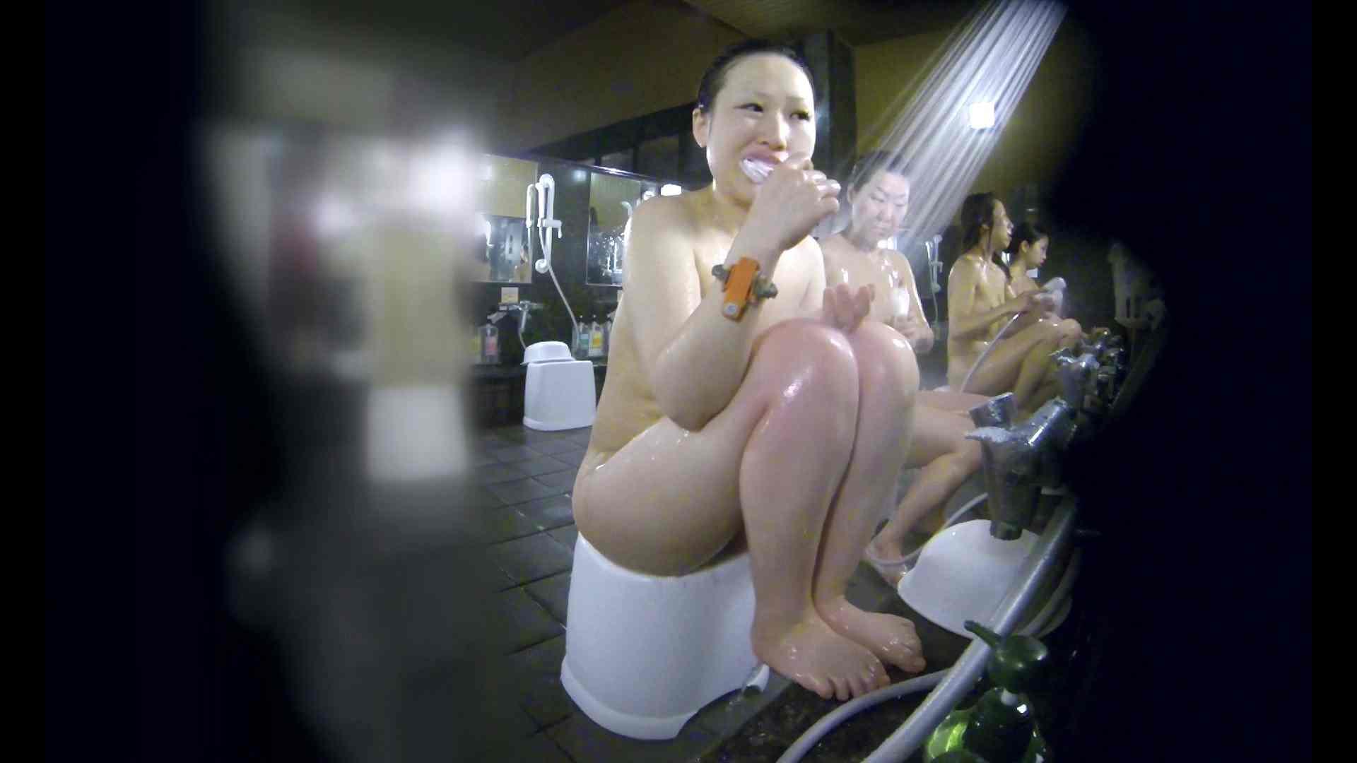 洗い場!米粉パンかのようなもっちり感。あっ!具が! 銭湯   潜入エロ調査  99連発 15