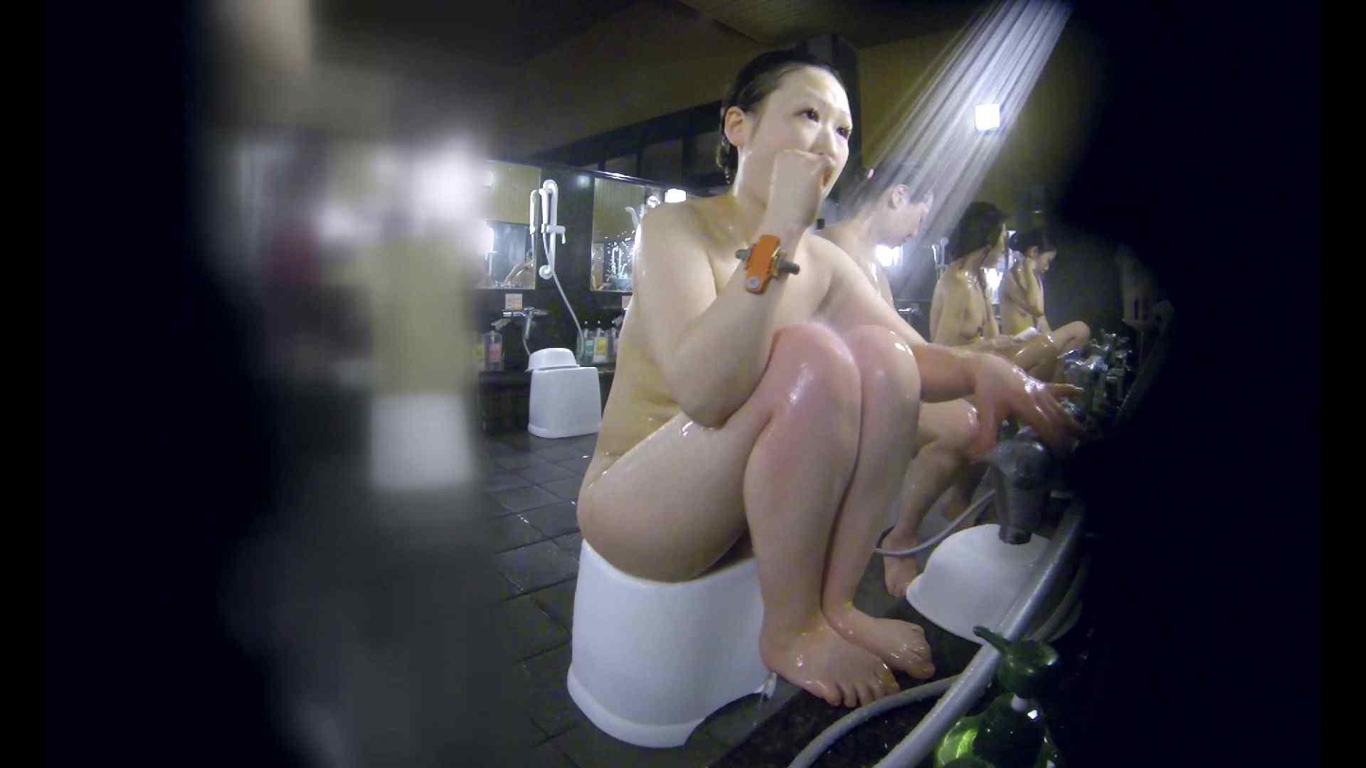 洗い場!米粉パンかのようなもっちり感。あっ!具が! 銭湯   潜入エロ調査  99連発 19