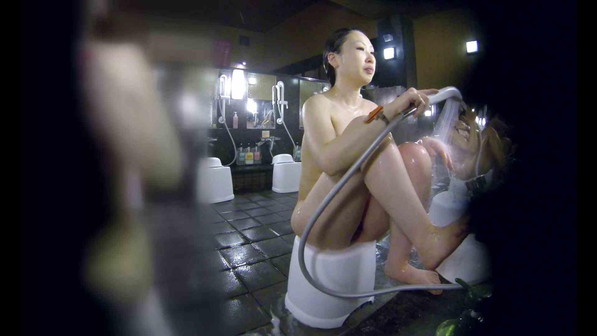 洗い場!米粉パンかのようなもっちり感。あっ!具が! 銭湯   潜入エロ調査  99連発 26