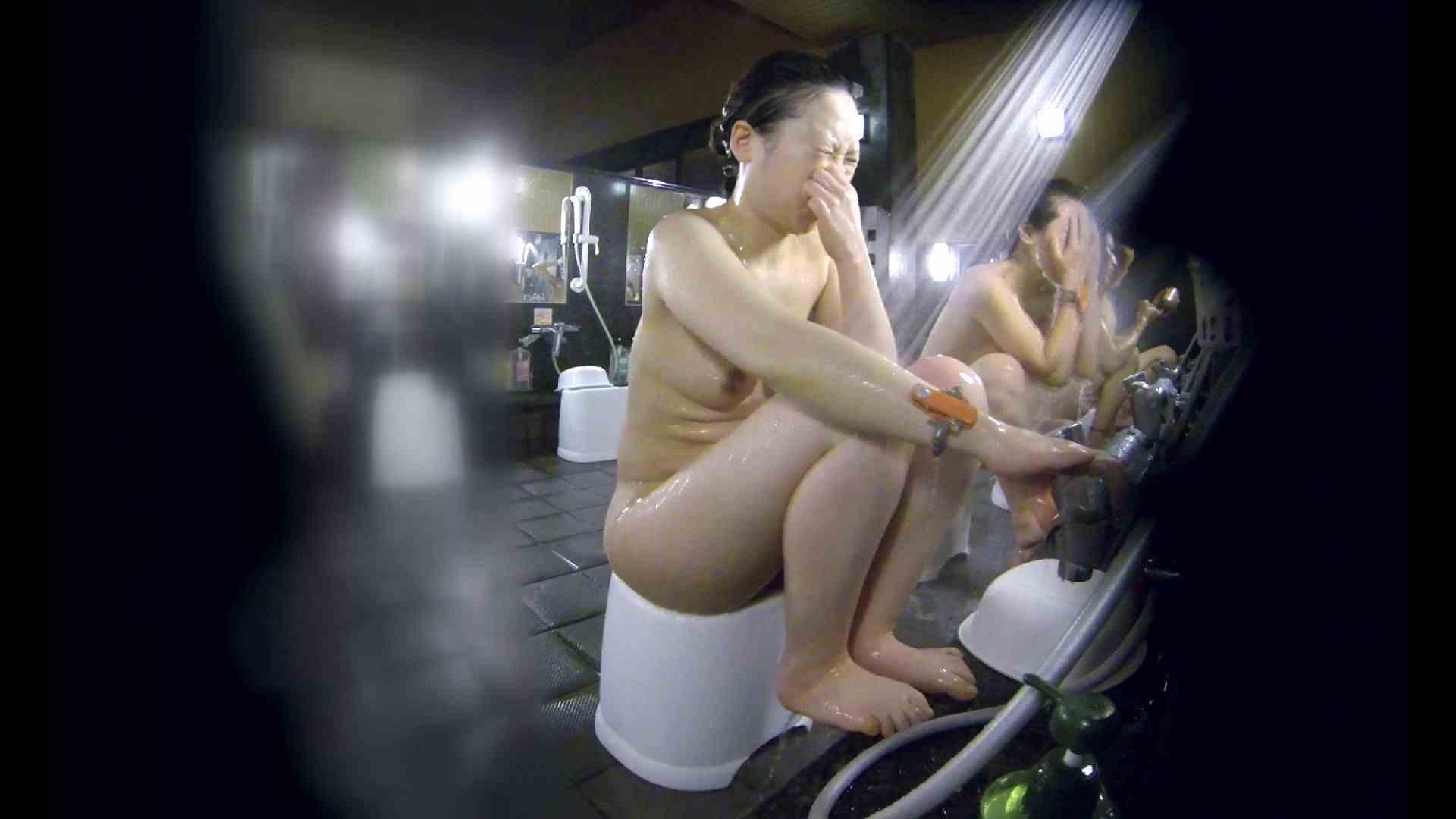 洗い場!米粉パンかのようなもっちり感。あっ!具が! 銭湯   潜入エロ調査  99連発 55
