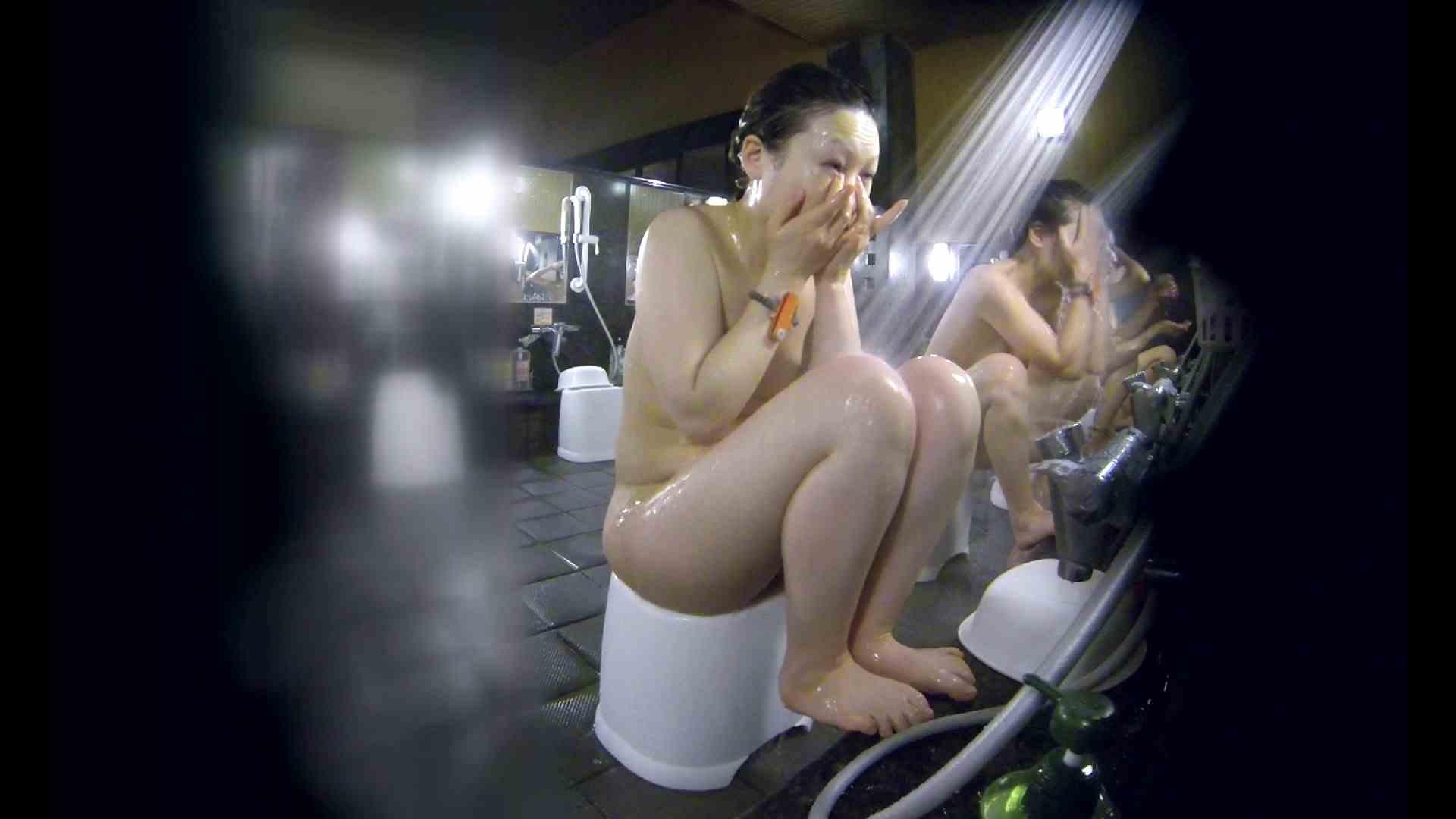 洗い場!米粉パンかのようなもっちり感。あっ!具が! 銭湯   潜入エロ調査  99連発 56