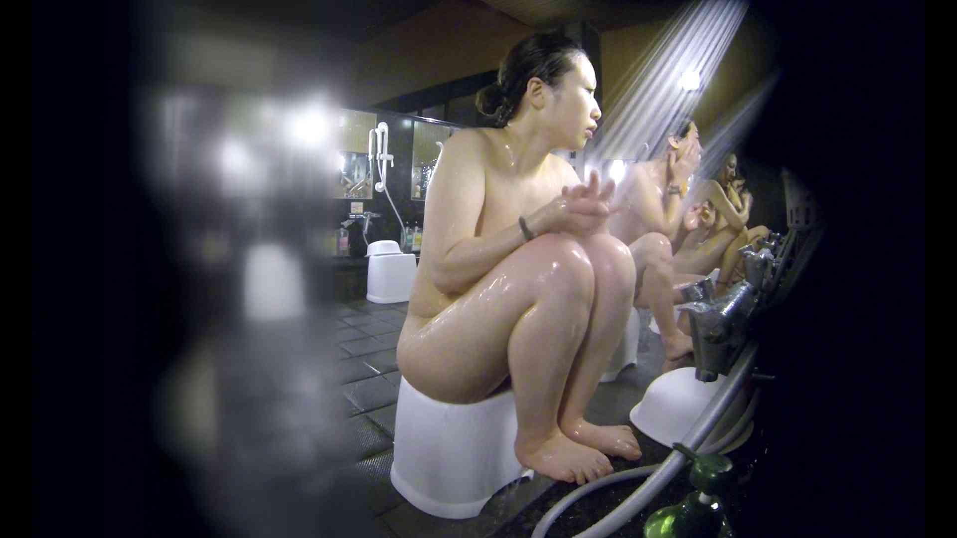 洗い場!米粉パンかのようなもっちり感。あっ!具が! 銭湯   潜入エロ調査  99連発 58