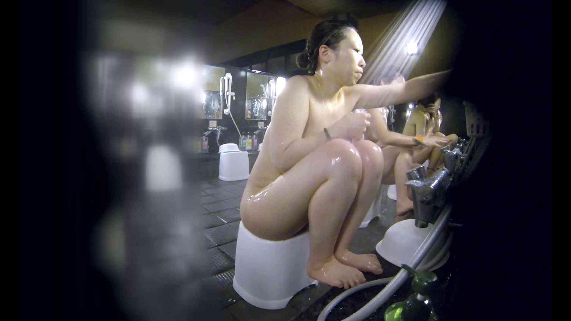 洗い場!米粉パンかのようなもっちり感。あっ!具が! 銭湯   潜入エロ調査  99連発 59