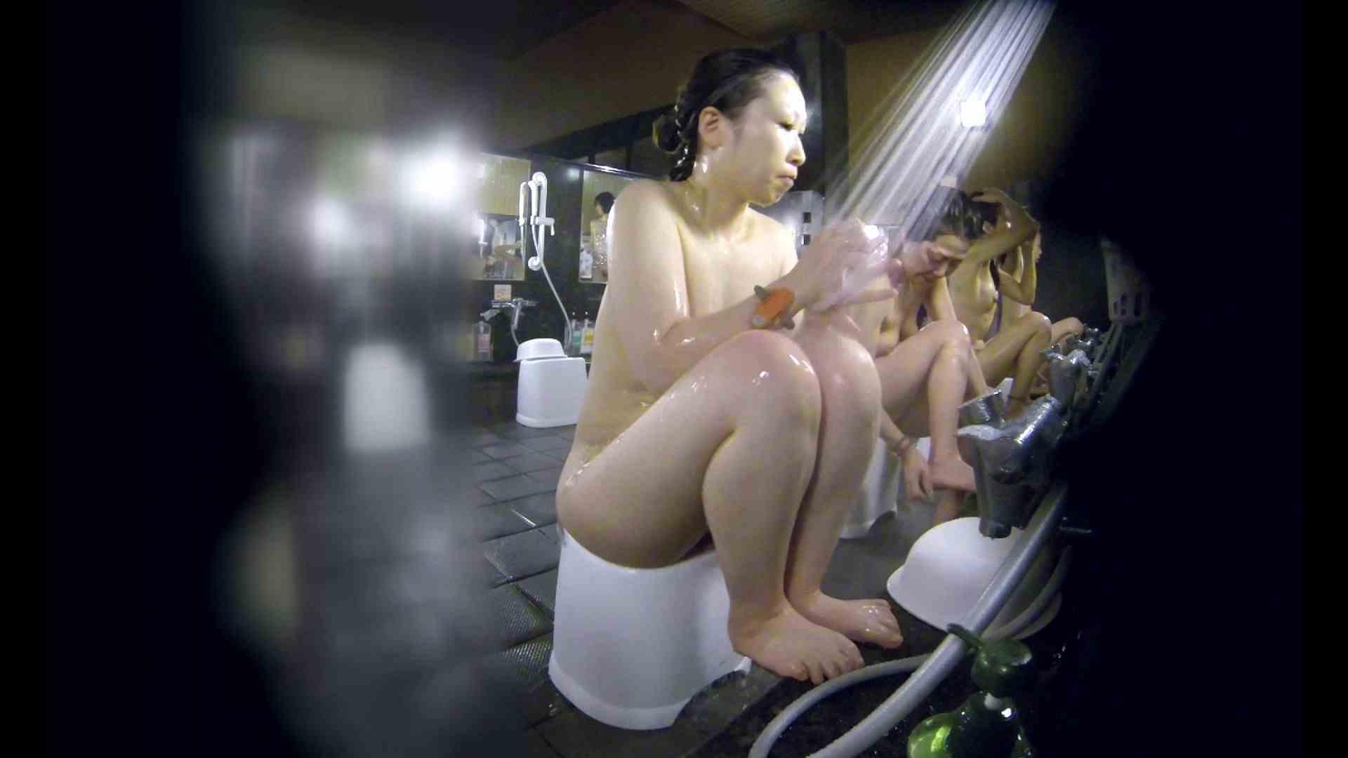 洗い場!米粉パンかのようなもっちり感。あっ!具が! 銭湯   潜入エロ調査  99連発 61