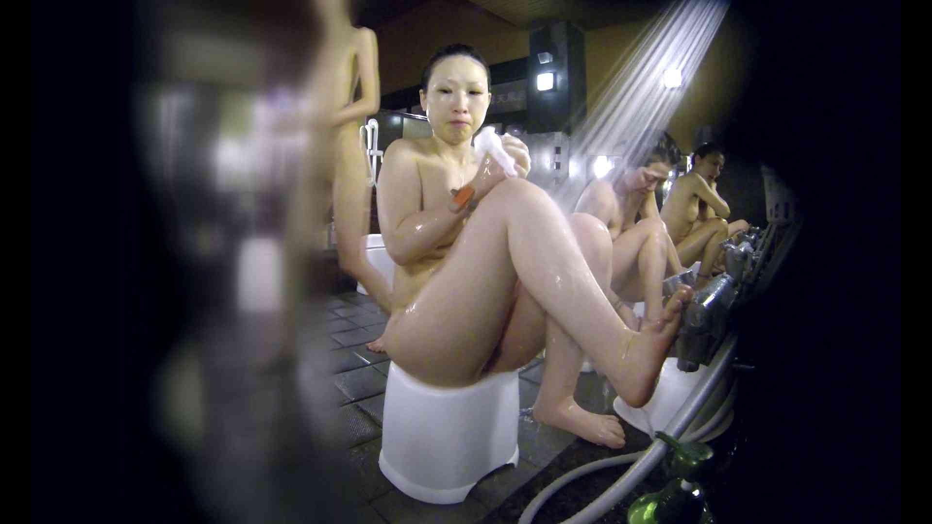 洗い場!米粉パンかのようなもっちり感。あっ!具が! 銭湯   潜入エロ調査  99連発 62