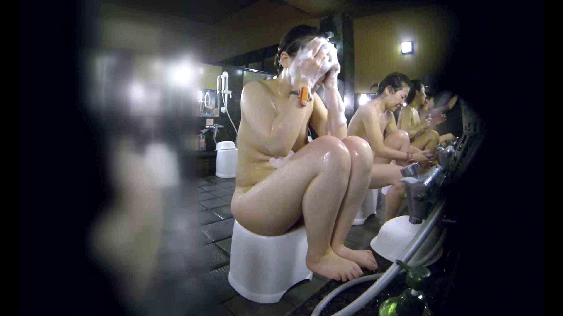 洗い場!米粉パンかのようなもっちり感。あっ!具が! 銭湯   潜入エロ調査  99連発 69