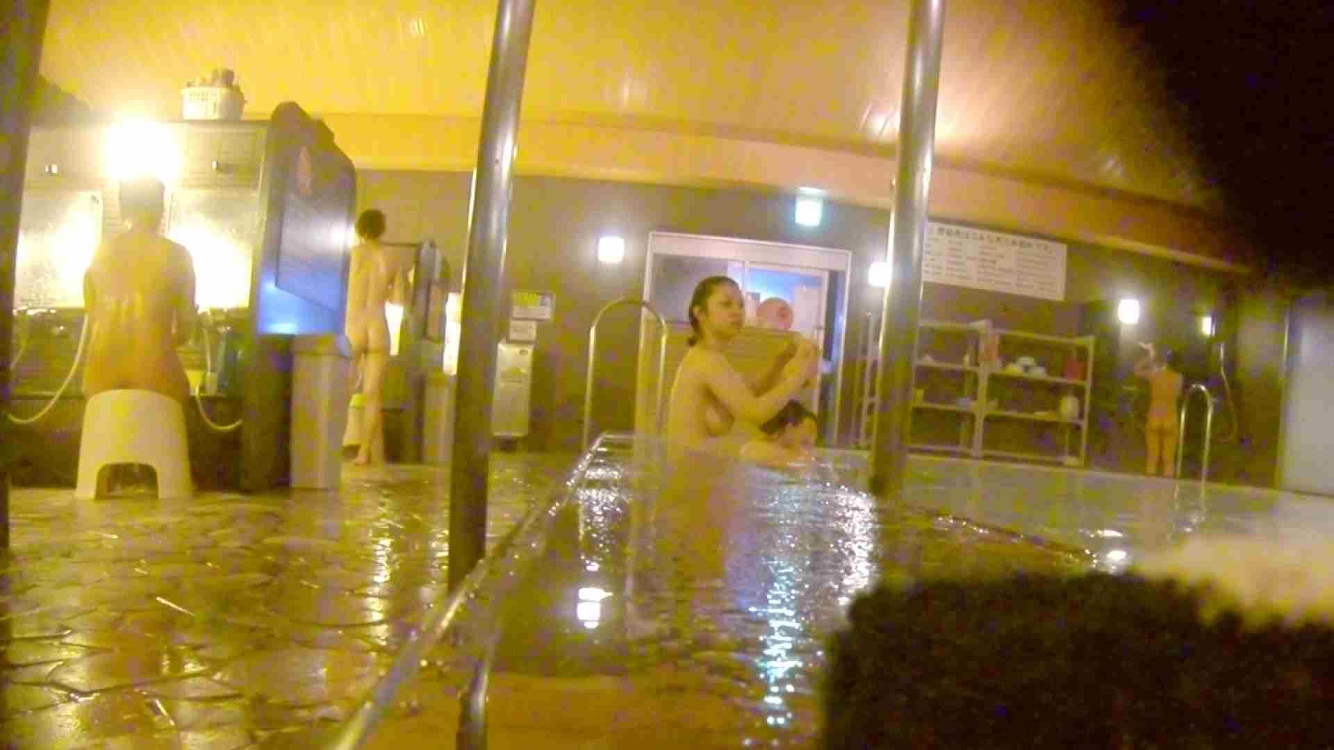洗い場!形、大きさ、柔らかさ全てが合格点の触りたくなるオッパイ。 銭湯   潜入エロ調査  41連発 1
