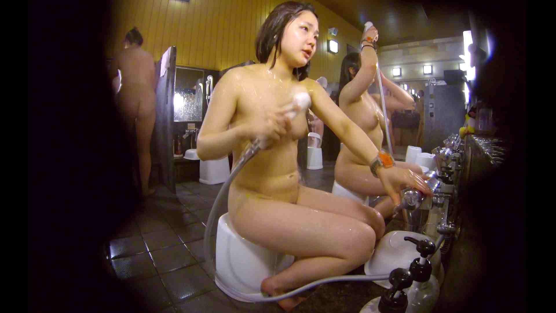 洗い場!ムッチリの2人組。美女ではないですが、触りたくなる体つき 銭湯 | 美女達のヌード  34連発 13