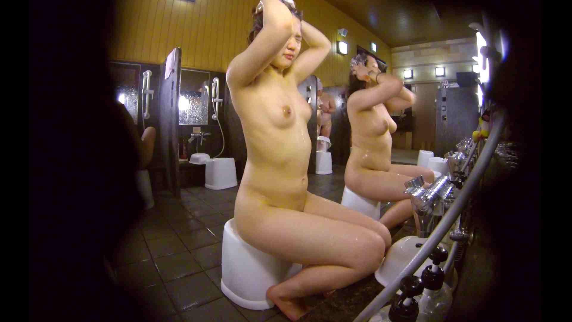 洗い場!ムッチリの2人組。美女ではないですが、触りたくなる体つき 銭湯 | 美女達のヌード  34連発 19
