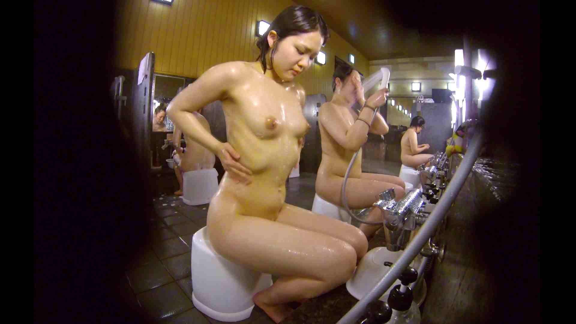洗い場!ムッチリの2人組。美女ではないですが、触りたくなる体つき 銭湯 | 美女達のヌード  34連発 30